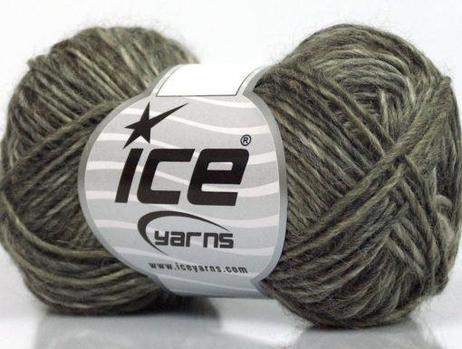 Lot of 8 Skeins Ice Yarns SALE WINTER (60% Wool) Yarn Brown Shades