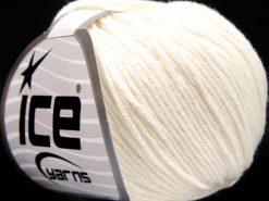 Lot of 8 Skeins Ice Yarns BABY SUMMER DK (50% Cotton) Hand Knitting Yarn Ecru