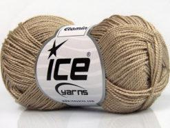 Lot of 10 Skeins Ice Yarns ETAMIN Hand Knitting Yarn Camel