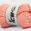 250 gr ICE YARNS TUBE COTTON JUMBO (40% Cotton) Hand Knitting Yarn Light Salmon