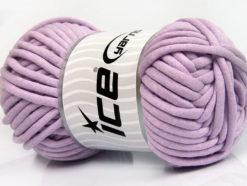 250 gr ICE YARNS TUBE COTTON JUMBO (40% Cotton) Hand Knitting Yarn Light Lilac