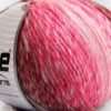 Lot of 4 x 100gr Skeins Ice Yarns ROSETO WORSTED (30% Wool) Yarn Pink Shades Burgundy Light Grey