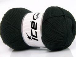Lot of 4 x 100gr Skeins Ice Yarns BABY SOFTY Hand Knitting Yarn Black