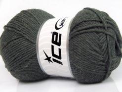 Lot of 4 x 100gr Skeins Ice Yarns BABY SOFTY Hand Knitting Yarn Dark Grey