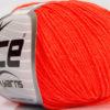 Lot of 8 Skeins Ice Yarns BABY SUMMER (60% Cotton) Yarn Neon Orange
