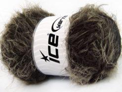 Lot of 4 x 100gr Skeins Ice Yarns TECHNO WOOL SUPERBULKY (30% Wool) Yarn Brown Shades