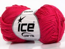 Lot of 10 Skeins Ice Yarns ETAMIN Hand Knitting Yarn Candy Pink