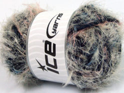 Lot of 4 x 100gr Skeins Ice Yarns TECHNO WOOL SUPERBULKY (30% Wool) Yarn Light Khaki Pink Blue Navy