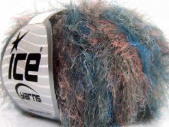 Lot of 8 Skeins Ice Yarns TECHNO STAR Hand Knitting Yarn Grey Salmon Blue