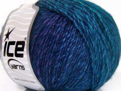 Lot of 8 Skeins Ice Yarns ROSETO (30% Wool) Yarn Purple Navy Green