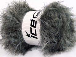 Lot of 4 x 100gr Skeins Ice Yarns TECHNO PLY Yarn Black Grey Shades
