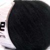 Lot of 8 Skeins Ice Yarns SALE WINTER (24% Mohair 76% Tencel) Yarn Black