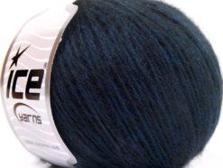 Lot of 8 Skeins Ice Yarns SALE WINTER (24% Mohair 76% Tencel) Yarn Dark Blue Black