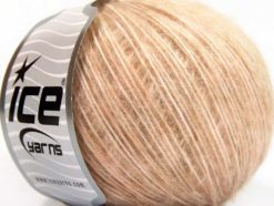Lot of 8 Skeins Ice Yarns SALE LUXURY-PREMIUM (20% Alpaca 20% Wool) Yarn Light Salmon