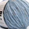 Lot of 8 Skeins Ice Yarns SOFTAIR TWEED (4% Viscose) Yarn Light Blue