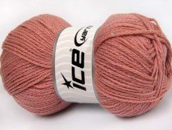 Lot of 4 x 100gr Skeins Ice Yarns CHAIN PAILLETTE (2% Paillette) Yarn Pink