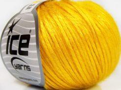 Lot of 8 Skeins Ice Yarns ROCK STAR (19% Merino Wool) Hand Knitting Yarn Yellow