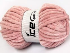 Lot of 2 x 200gr Skeins Ice Yarns CHENILLE SUPERBULKY (100% MicroFiber) Yarn Rose Pink