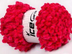 Lot of 4 x 100gr Skeins Ice Yarns CHENILLE LOOP (100% MicroFiber) Yarn Candy Pink