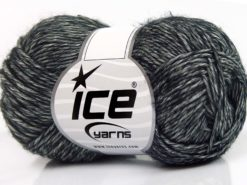 Lot of 8 Skeins Ice Yarns DENIM (80% Cotton) Hand Knitting Yarn Black