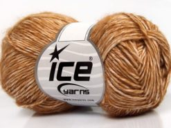 Lot of 8 Skeins Ice Yarns DENIM (80% Cotton) Hand Knitting Yarn Gold