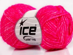 Lot of 8 Skeins Ice Yarns DENIM (80% Cotton) Hand Knitting Yarn Gipsy Pink