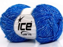 Lot of 8 Skeins Ice Yarns DENIM (80% Cotton) Hand Knitting Yarn Blue