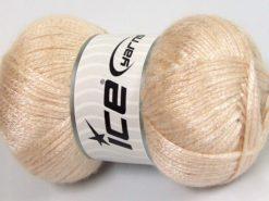Lot of 4 x 100gr Skeins Ice Yarns UNIVERSE (19% Wool) Yarn Light Beige