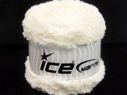 Lot of 3 x 100gr Skeins Ice Yarns CAKES PANDA (100% MicroFiber) Yarn Ecru