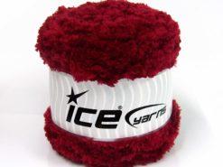 Lot of 3 x 100gr Skeins Ice Yarns CAKES PANDA (100% MicroFiber) Yarn Burgundy