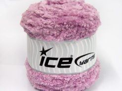 Lot of 3 x 100gr Skeins Ice Yarns CAKES PANDA (100% MicroFiber) Yarn Light Lilac
