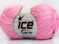 Lot of 8 Skeins Ice Yarns DENIM (80% Cotton) Hand Knitting Yarn Pink Shades