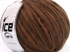 Lot of 4 x 100gr Skeins Ice Yarns SALE WINTER (60% Merino Wool) Yarn Brown