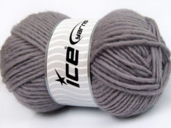 Lot of 4 x 100gr Skeins Ice Yarns FELTING WOOL (100% Wool) Yarn Grey