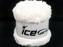 Lot of 3 x 100gr Skeins Ice Yarns CAKES PANDA (100% MicroFiber) Yarn White