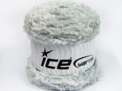 Lot of 3 x 100gr Skeins Ice Yarns CAKES PANDA (100% MicroFiber) Yarn Light Grey