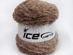 Lot of 3 x 100gr Skeins Ice Yarns CAKES PANDA (100% MicroFiber) Yarn Light Camel