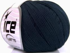 Lot of 8 Skeins Ice Yarns SALE SUMMER (67% Cotton) Hand Knitting Yarn Navy