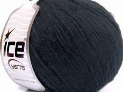 Lot of 8 Skeins Ice Yarns MAKO COTTON SOFTY (60% Mako Cotton) Yarn Black