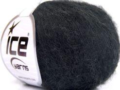 Lot of 10 Skeins Ice Yarns ALPACA SUPERFINE WOOL COMFORT (28% Alpaca Superfine 31% Wool) Yarn Black