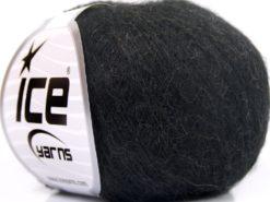 Lot of 10 Skeins Ice Yarns BABY ALPACA FINGERING (40% Baby Alpaca 10% Merino Wool) Yarn Black