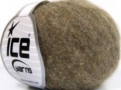 Lot of 10 Skeins Ice Yarns BABY ALPACA FINGERING (40% Baby Alpaca 10% Merino Wool) Yarn Camel