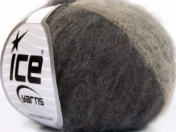 Lot of 10 Skeins Ice Yarns SALE LUXURY-PREMIUM (23% Alpaca 24% Wool) Yarn Brown Shades Grey Shades