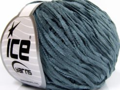 Lot of 8 Skeins Ice Yarns CHENILLE LIGHT (100% MicroFiber) Yarn Grey