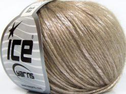 Lot of 8 Skeins Ice Yarns ROCK STAR (19% Merino Wool) Yarn Light Camel
