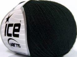 Lot of 8 Skeins Ice Yarns BABY MERINO SOFT (40% Merino Wool) Yarn Black