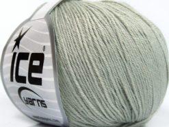 Lot of 8 Skeins Ice Yarns BABY MERINO SOFT (40% Merino Wool) Yarn Light Grey