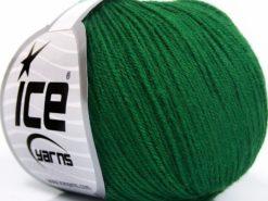 Lot of 8 Skeins Ice Yarns BABY MERINO SOFT (40% Merino Wool) Yarn Dark Green