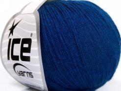 Lot of 8 Skeins Ice Yarns BABY MERINO SOFT (40% Merino Wool) Yarn Navy