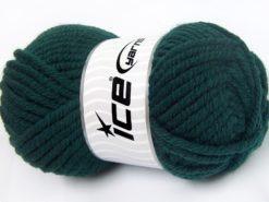Lot of 4 x 100gr Skeins Ice Yarns ELITE WOOL SUPERBULKY (50% Wool) Yarn Teal